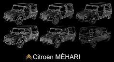 Méhari evolution 1366x750 desktop background