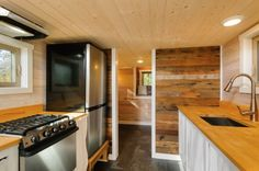 240 Sq. Ft. Triple-Axle Wishbone Tiny Home on Wheels