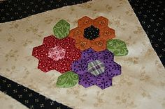 Great idea for trying some hexies.   I think I will be doing this soon.