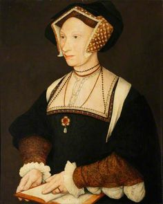 Margaret More later wife of William Roper. The favorite daughter of Sir Thomas More. School of Hans Holbein the younger Uk History, Tudor History, Women In History, British History, Tudor Fashion, Renaissance Fashion, 1500s Fashion, Renaissance Clothing, Historical Costume