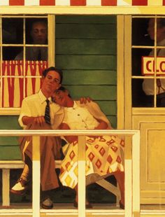 51 ideas painting love couple romances jack vettriano for 2019 Jack Vettriano, Painting Love Couple, Couple Art, Edward Hopper, Norman Rockwell, Illustrations, Oeuvre D'art, Painting & Drawing, Amazing Art