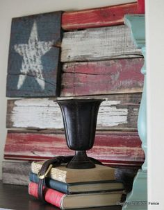 ake a flag with old wood by Beyond The Picket Fence - Picmia