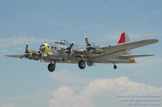 Boeing B-17G  Flying Fortress, N3509G, Miss Angela