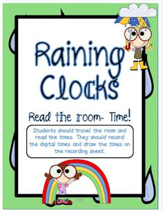 A few ideas for teaching TIME and a couple of freebies!