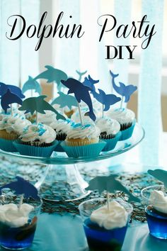 Host a beautiful dolphin party. Easy menu and decor. Great for an undersea party.