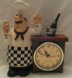 italian chef kitchen decor items | ... FAT CHEF FRENCH ITALIAN BISTRO FORK SPOON SET KITCHEN HOME WALL DECOR
