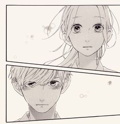 Manga strip hirunaka no ryuusei Manga Anime, Anime Art, Manga Love, Manga Girl, Anime Comics, Daytime Shooting Star, Funny Anime Pics, Tsubaki Chou Lonely Planet, Wie Zeichnet Man Manga