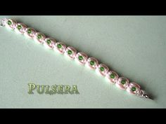 Beaded Bracelet Gold Leaves. 3D Beading Tutorial - YouTube