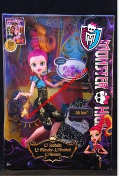 monster high doll gigi grant by her now   gigi grant in box not my pic