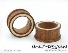 8 -70 mm Paar Pair Holz Flesh Tunnel Plug von XTremeOrganic auf Etsy, €38.00 8-70mm Pair of wooden Flesh Tunnels Organic Plugs on Etsy, €38.00