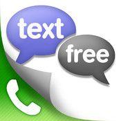 My free texting app