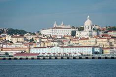Bom dia Lisboa. Lisboa vista do Tejo Fotografia: Ana Luísa Alvim #lisboa