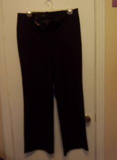 WOMENS/ JUNIORS BLACK DRESS SLACKS NWT #George #DressPants