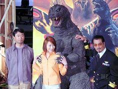 Kaiju n' Wimmin Chiharu Niiyama. Godzilla GMK.