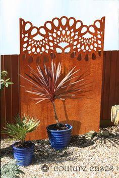 Chantilly Lace garden screens
