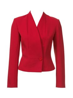 BurdaStyle is a community website for people who sew or would like to learn how. Dope Fashion, Blazer Fashion, Fashion Line, Fashion Outfits, Style Blazer, Red Blazer, Fashion Design Template, Women Church Suits, Formal Shirts