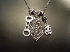 Fifty Shades of Grey Inspired Necklace by klockwerkkreations, via Etsy.