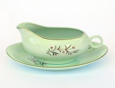 "Image of ""Palm Springs"" Gravy Boat & Saucer"