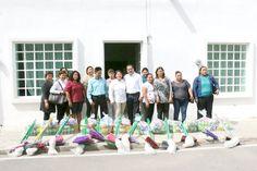 Periodismo sin Censura: José Ángel Chacón Arcos entrega 25 Kits de limpiez...