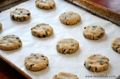 Chocolate Chip Cookies Bites