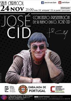 José Cid es una leyenda viva de la música portuguesa que por primera vez publica un álbum en castellano. Lo presentará en Madrid el 24 de noviembre.