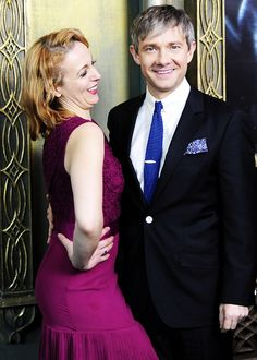 All the Babes' love for the fabulous Amanda and Martin at the NYC premiere of The Hobbit!
