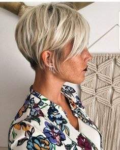 "9,327 Likes, 70 Comments - PixieCut ShortHair Blogger (@nothingbutpixies) on Instagram: ""You must wear some Flowers in your hair @lavieduneblondie. Or if none in your hair if on your…"""