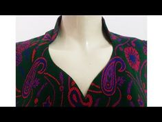 पान शेप नैक डिजाइन में बैन लगाना सीखे / Ban Neck Design Cutting and Stitching Chudidhar Neck Designs, Salwar Neck Designs, Neck Designs For Suits, Kurta Neck Design, Saree Blouse Neck Designs, Neckline Designs, Dress Neck Designs, Kurta Designs, Sleeve Designs