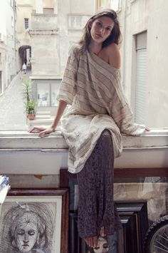 La Bottega di Brunella at LeslieJane #fashion #womensfashion #linen