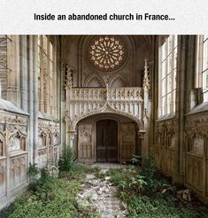 Funny Pictures: Abandoned Church