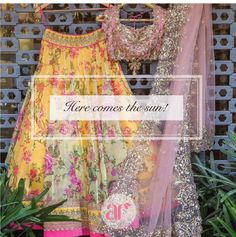 Anushree Reddy is absolutely one of my favourite Indian fashion designers. Floral Lehenga, Pink Lehenga, Lehenga Choli, Anarkali, Indian Fashion Designers, Indian Designer Wear, Indian Attire, Indian Ethnic Wear, Indian Style