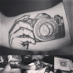 well, yes i love photography... and this is the reason why i painted my body with a tattoo... my cousin is an tattoo artist, his work is absolutly cool. in just six weeks, we finish it... i love it. buildet on family work with a personality reason of my  passion #tattoo #family #work #bodypainting #photography #canon #passion #cousin #munich #malangerphy #tattooartist #art #phototattoo #pictureoftheday #hero #job #passionwork #bodyart #makingof #traunstein #langer #ink #inkstudio #bayern…