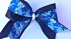 Tutorial on no sew cheer bow