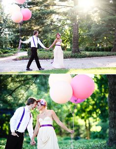 love the balloons - really want to use them in my engagement shots