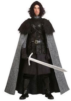 s Deluxe Warrior Game Thrones Mens Fancy Dress Costume XL Dark Knight