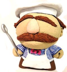 'The Swedish Chef' by Task One. Part of Tenacious Toys Super Sunday Series dropping today.