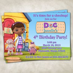 doc mcstuffins birthday - Google Search