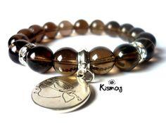 Minerals, Dangles, Beaded Bracelets, Reiki, Silver, Jewelry, Fashion, Bracelets, Jewellery Making