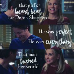 Grey's Anatomy • Arizona & Nathan