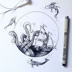 Tatto Ideas 2017  Je vous propose de découvrir lesdélicates créations de l'illustrateur i