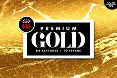 BIG GOLD PREMIUM PACK by WG VISUALARTS on @creativemarket