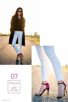 Wearing white jeans in the winter - 15 Stylish Ways to Wear White Jeans