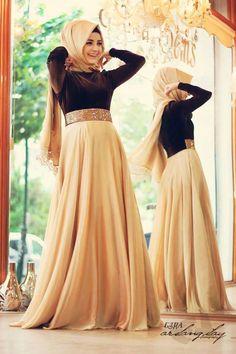 2016 Robe de Soiree A Line Long Sleeve Muslim Evening Dress Crystal High Neck…