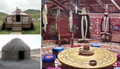 The Yurts of the nomadic peoples