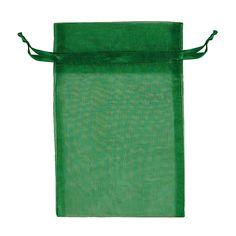 Green Organza Pouch
