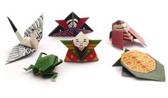 ORIGAMI Japanese old style looking 6 kinds of kit