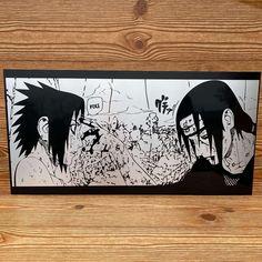 Custom Metal Anime Minimalist Poster