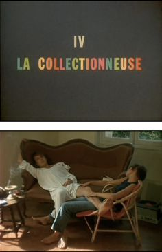 """La Collectionneuse"" - Eric Rohmer (1967)"