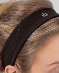 Lululemon slipless headband. Have it and it actually is slipless!