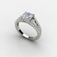 Diamond Engagement Rings for women in White Gold ***(FOR DISCOUNT USE COUPON CODE: PramodWBMKD)***